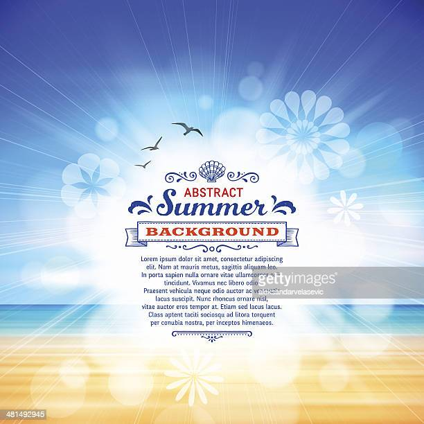 Abstract Summer Background
