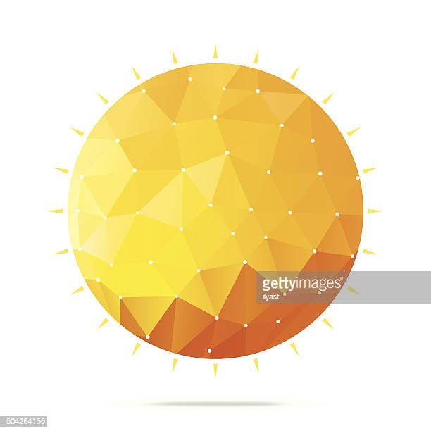 Abstrait soleil