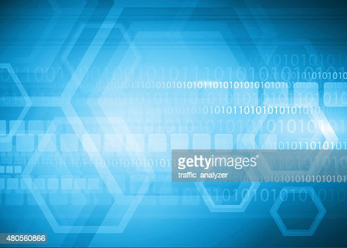 Abstract technical background : Vector Art