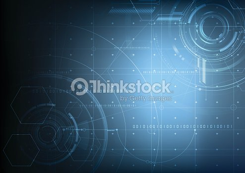 Abstract technological future interface blueprint vector background abstract technological future interface blueprint vector background vector art malvernweather Choice Image