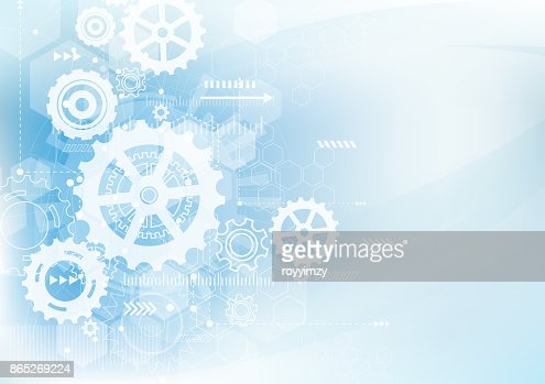 Abstract Technology Background. Communication and engineering concept. Vector illustration : stock vector