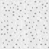 Binary Code, Technology, Number, Background, Zero, Data