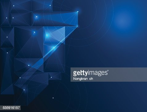 Abstract Technology background-cyberspace : Vector Art