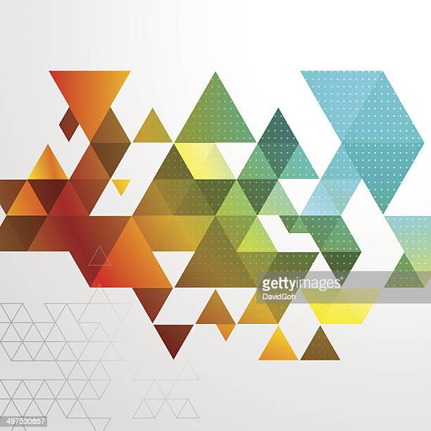 Abstrait Triangle fond