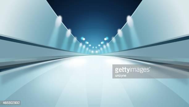 Túnel Fondo abstracto