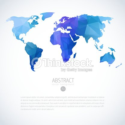 Abstract vector image of blue and purple world map vector art abstract vector image of blue and purple world map vector art gumiabroncs Images