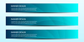 Abstract vector modern banner annual report design templates future Poster template design.