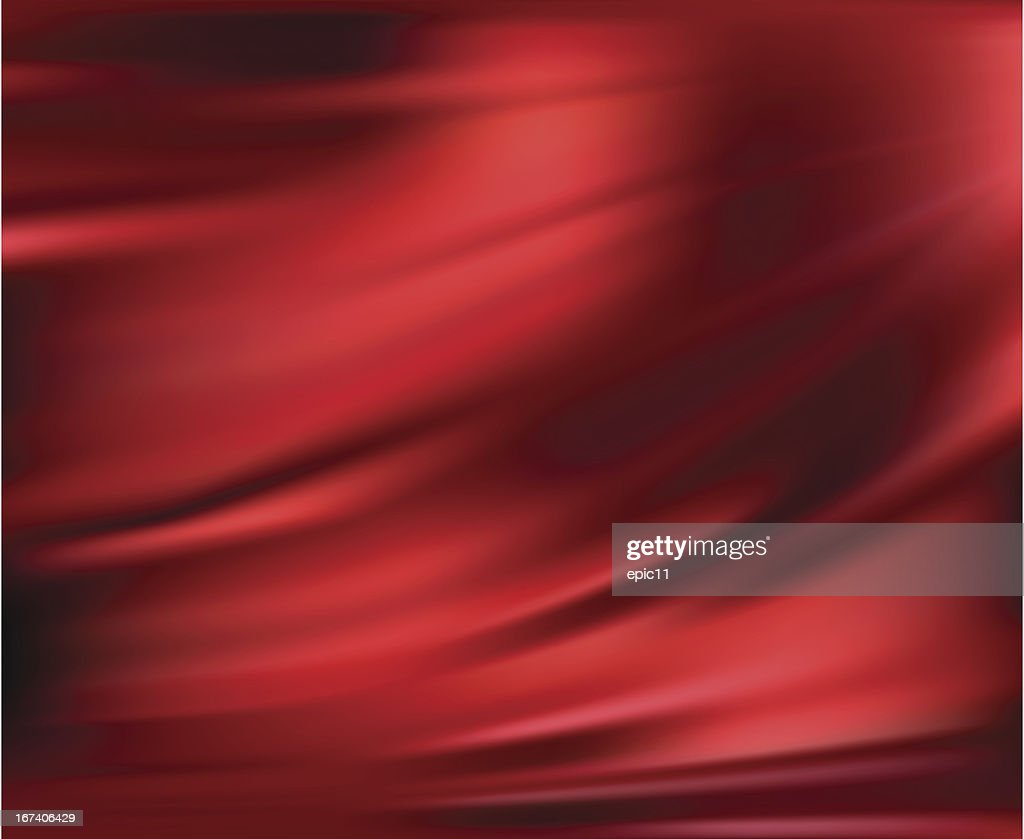 Abstract Vector Texture, Red Silk : Vectorkunst