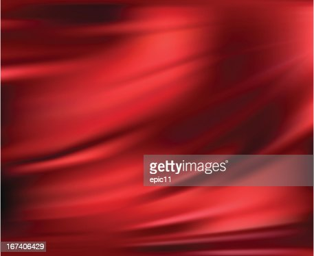 Abstract Vector Texture, Red Silk : Vector Art