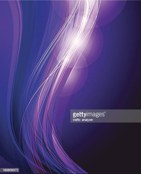 Abstract violet lines