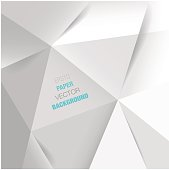 abstract white paper vector background