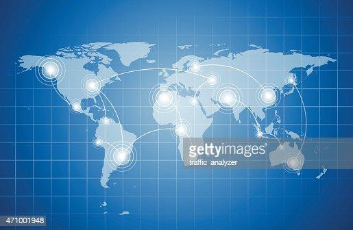 original abstract world map - photo #32