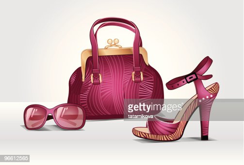 Accessories ''Pink passion'' : Vector Art