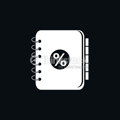 Accounting Ledger Icon Vector Art
