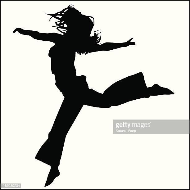 Action Posing Girl 09