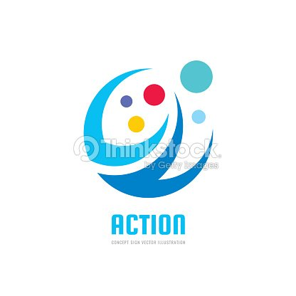 Action vector business sign template concept illustration abstract action vector business sign template concept illustration abstract shapes positive geometric sign in wajeb Gallery