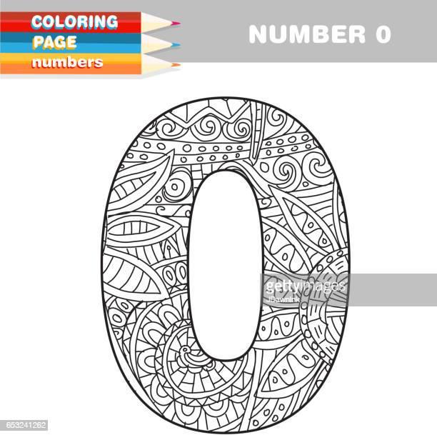 Erwachsenen Färbung Signaturgruppe hand gezeichneten Vorlage