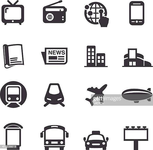 Advertising Media Icons - Acme Series