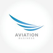 an amazing symbol for your Aerospace Industry, vector illustration business
