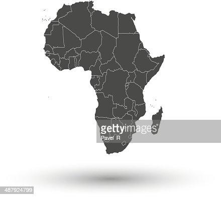 Africa Map Background.Africa Map Background Vector Vector Art Thinkstock