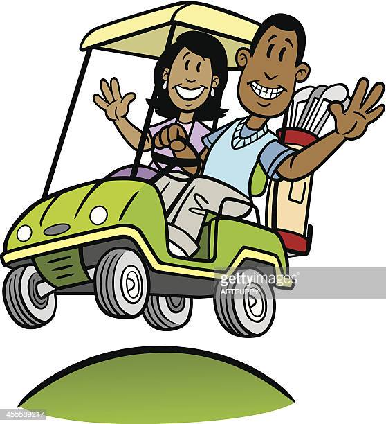 Golf Cart Stock Illustrations And Cartoons | Getty Images