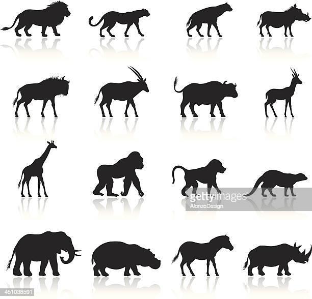 Illustrazioni e cartoni animati stock di animale getty