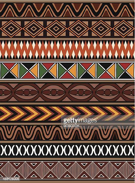 Afrikanischen Muster