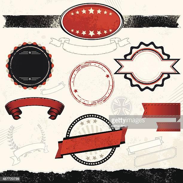 Aggressive Style Design Element