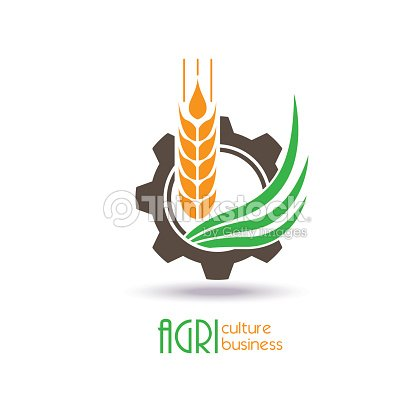 Agriculture Logo Design Icon Sign Or Symbol Vector Art Thinkstock