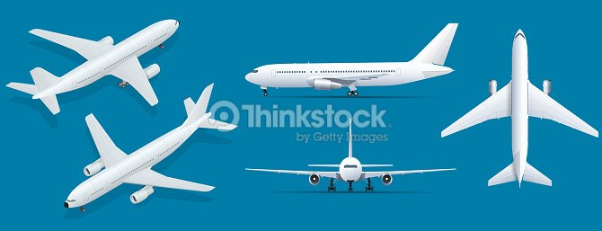 Airplanes on blue background industrial blueprint of airplane airplanes on blue background industrial blueprint of airplane airliner in top side malvernweather Gallery