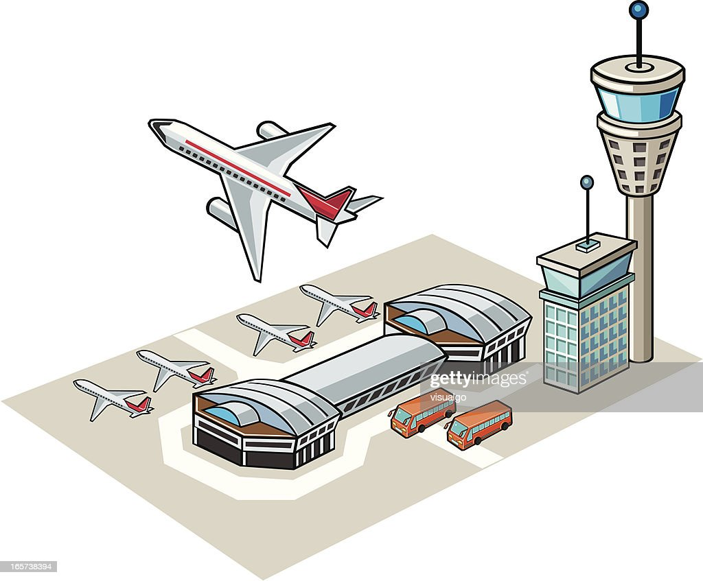 Airport Vector Art | Getty Images