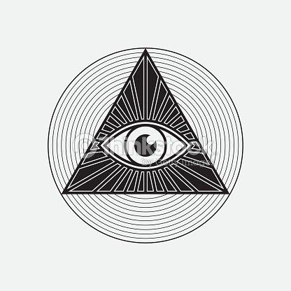 All Seeing Eye Symbol Vector Art Thinkstock