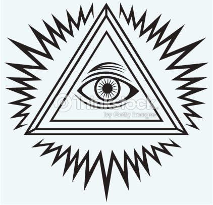 All Seeing Eye Vector Art