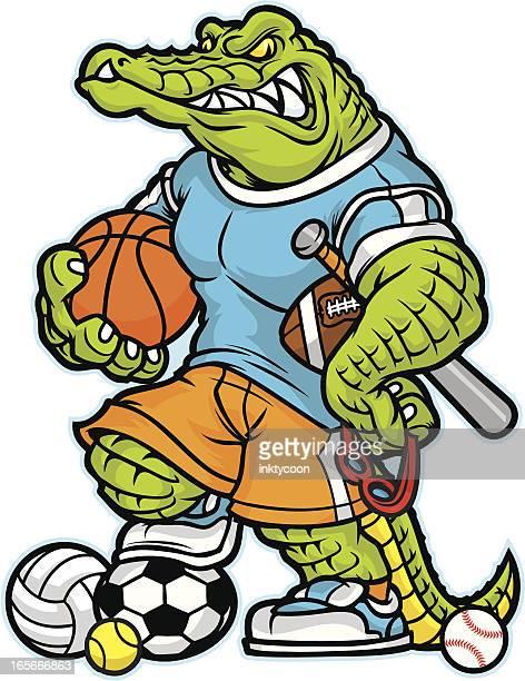 Alligator Macot Allsport