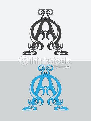 Alpha Omega Christian Icon And Symbol Vector Art Thinkstock