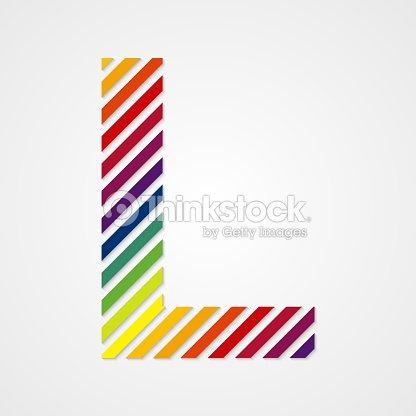 Letter L Vector Art
