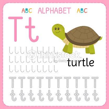 Alphabet Tracing Worksheet For Preschool And Kindergarten Writing