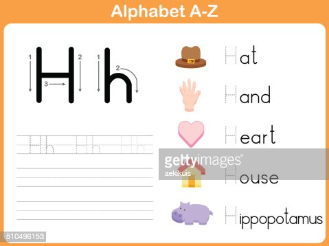 Number Names Worksheets : a to z alphabet tracing worksheets A To ...
