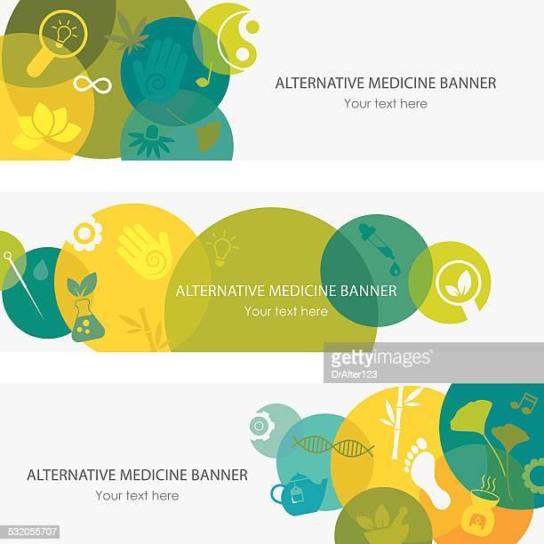 Alternative Medicine Banners