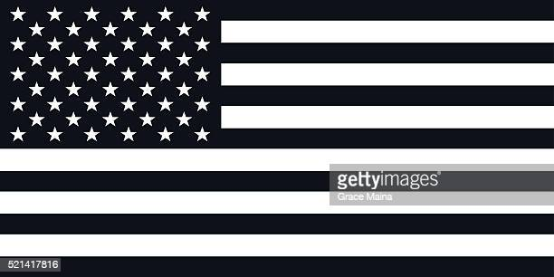 American Flag Illustration - VECTOR