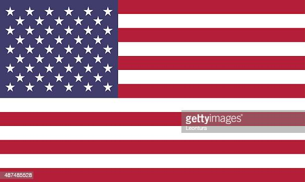 American Flag (Official Colors)
