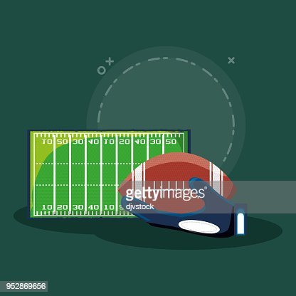 American Football Design Vector Art Thinkstock