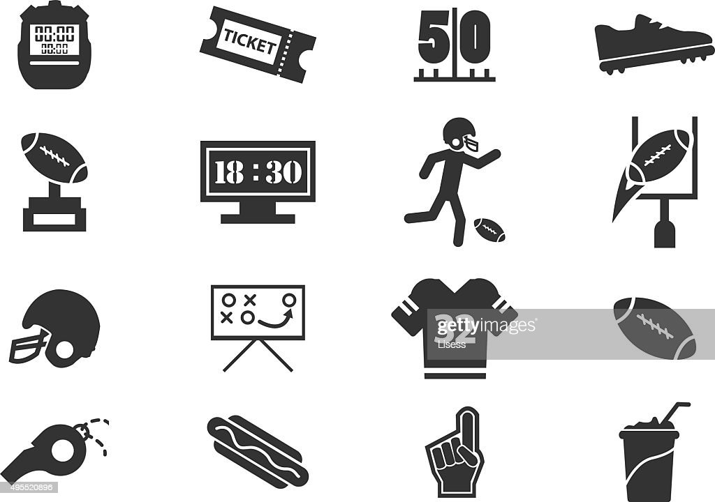 american football icon vector 1 clip art vector site