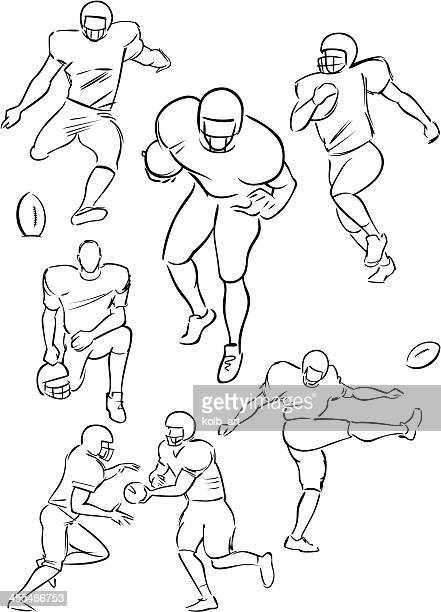 American Football playing figures 2