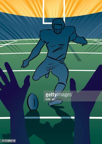 American football scene - Field Goal