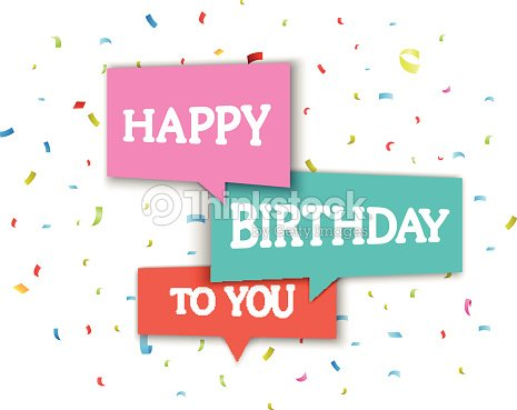 An example of a birthday greeting card vector art thinkstock an example of a birthday greeting card vector art m4hsunfo
