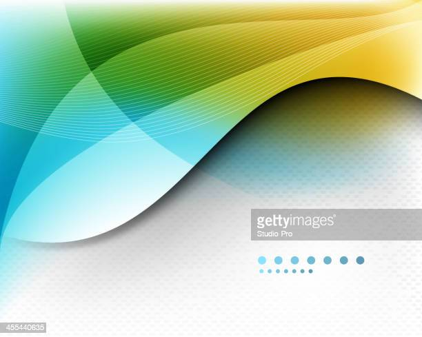 An sample template of a multicolored background