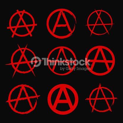 Anarchy Symbol Vector Art Thinkstock