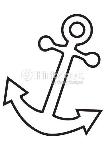Motif ancre clipart vectoriel thinkstock - Ancre de bateau dessin ...