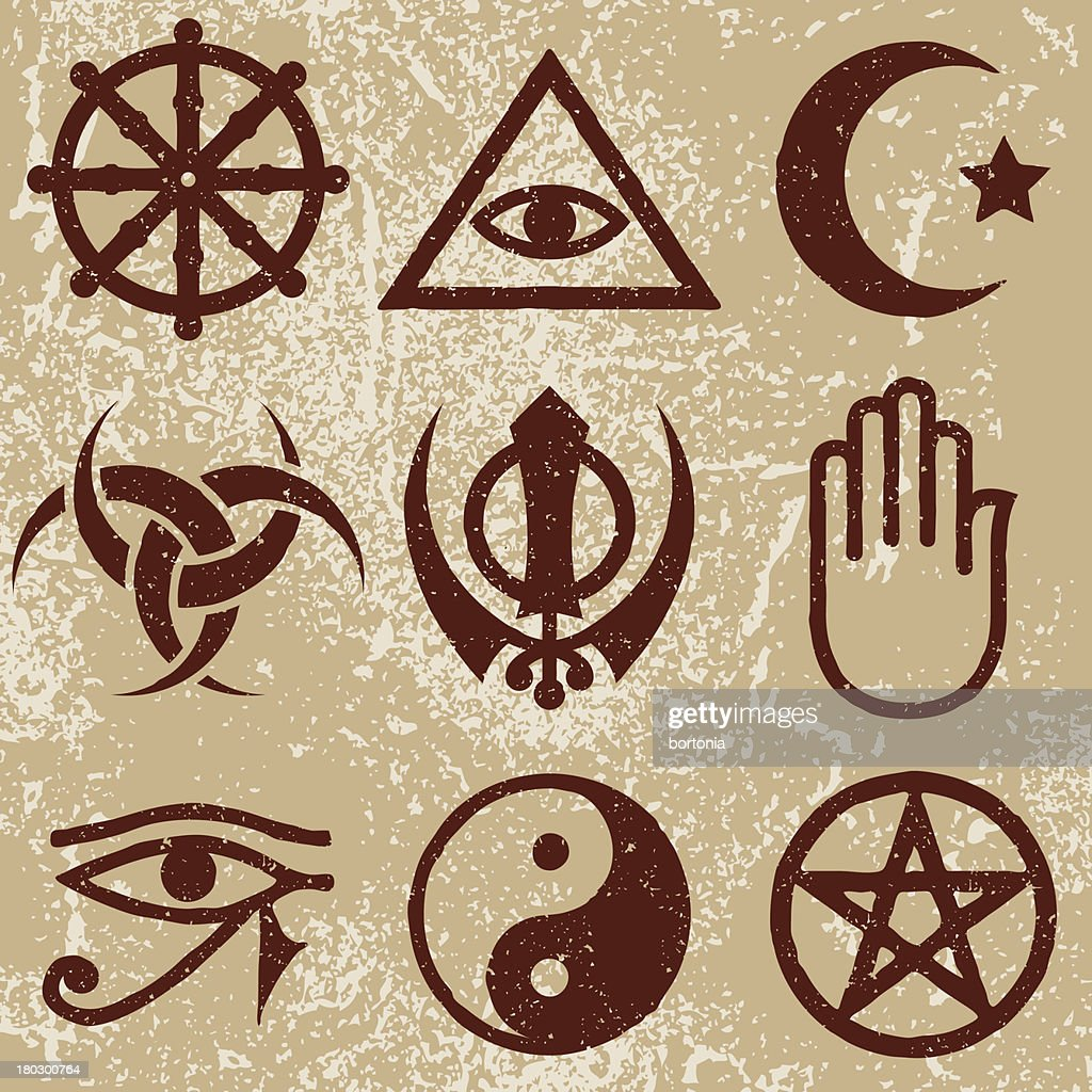 religious symbol vector art and graphics getty images